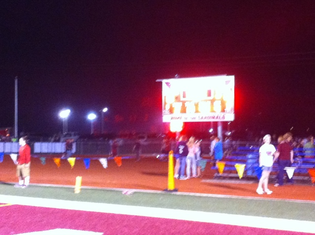 The final score: Eudora 16 Louisburg 15.